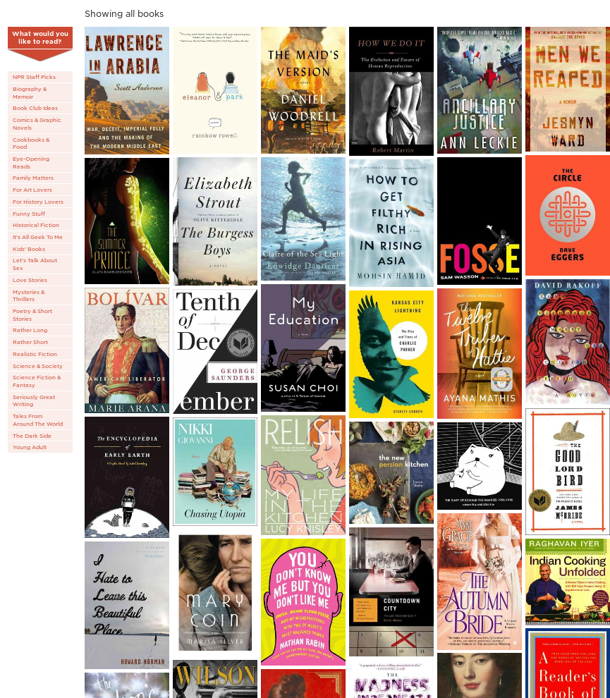 image of collage of best books of 2013
