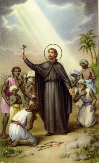 St. Francis Xavier, Missionary to Asia