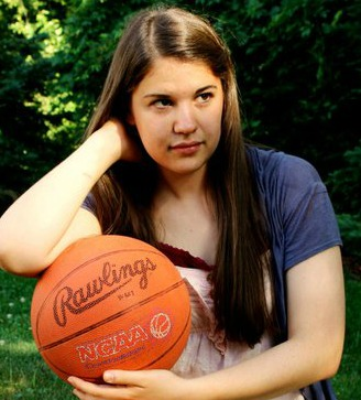 NOTE: Allison does not in any way play basketball, or any sport. She just thought this was a neat picture.
