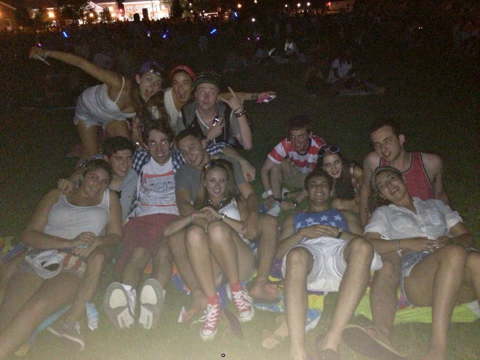 Going to the 4th of July fireworks has always been a tradition with my friends.