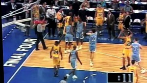 Chris Webber's timeout...sorry everyone. #FabFive
