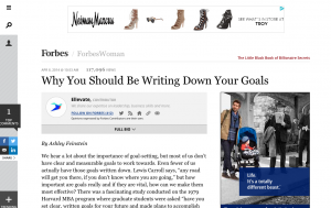 Example Forbes Article