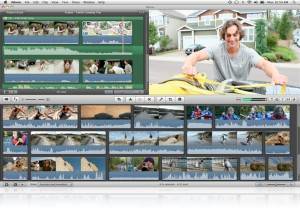 iMovie platform on Mac