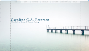 Screen Shot 2015-12-01 at 7.35.43 PM of my ePortfolio home page