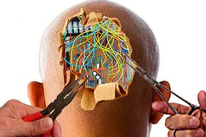 wires brain thoughts head