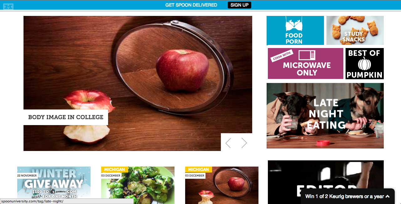 Spoon University at the University of Michigan Home Page